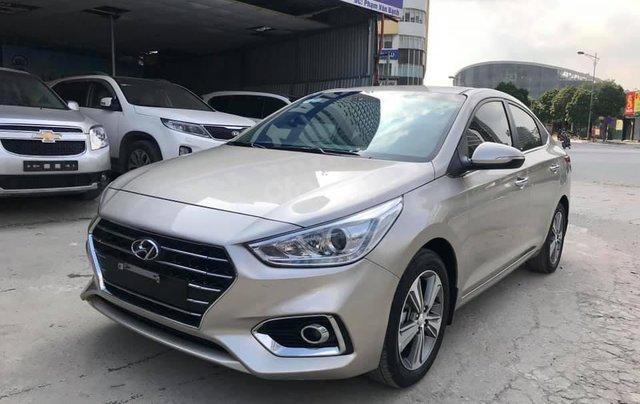 Hyundai Accent 1.4 ATH sản xuất 2018, màu vàng cát4