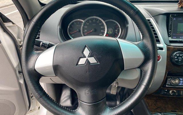 Mitsubishi Pajero Sport sản xuất 2012, số sàn 2 cầu màu trắng6
