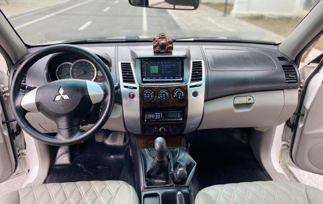 Mitsubishi Pajero Sport sản xuất 2012, số sàn 2 cầu màu trắng8