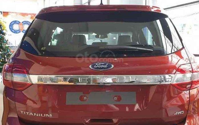 Bán xe Ford Everest Titanium 4WD năm 2020, màu đỏ, nhập khẩu nguyên chiếc2