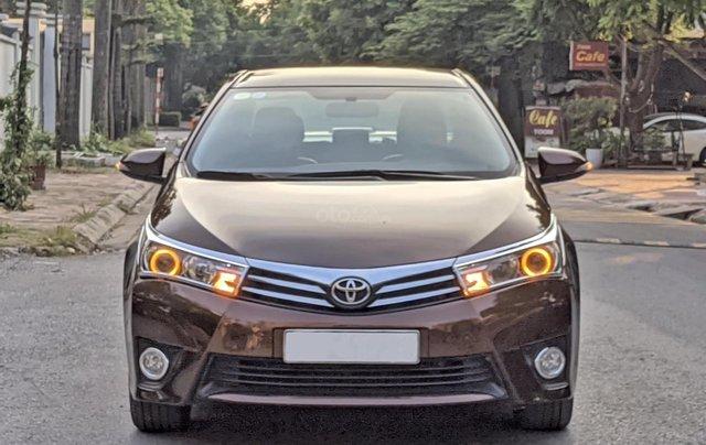 Cần bán nhanh chiếc Toyota Corolla Altis sản xuất năm 2014, màu nâu3