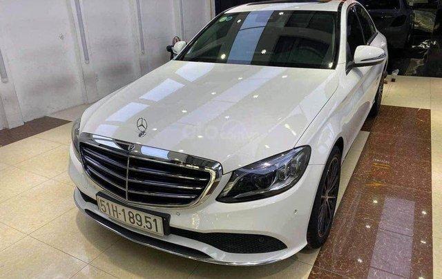 Cần bán Mercedes Benz C200 Exclusive model 2020, màu trắng1