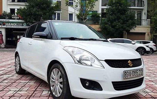 Bán Suzuki Swift sản xuất năm 2015, màu trắng0