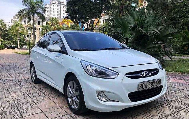 Cần bán xe Hyundai Accent năm sản xuất 2014, màu trắng, nhập khẩu  0