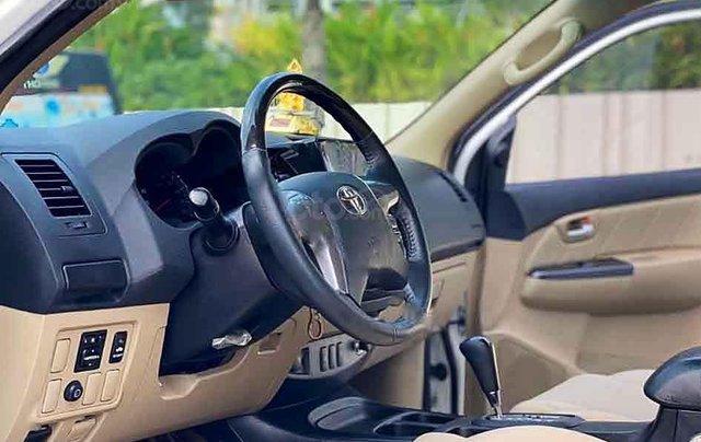 Bán ô tô Toyota Fortuner năm sản xuất 2015, màu trắng, số tự động 2