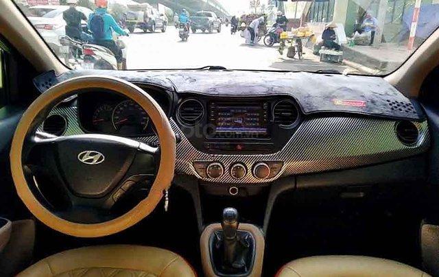 Cần bán lại xe Hyundai Grand i10 sản xuất năm 2014, màu bạc, nhập khẩu 1