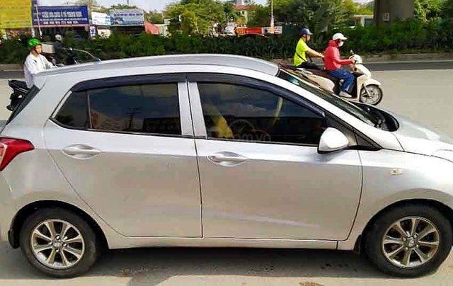 Cần bán lại xe Hyundai Grand i10 sản xuất năm 2014, màu bạc, nhập khẩu 0