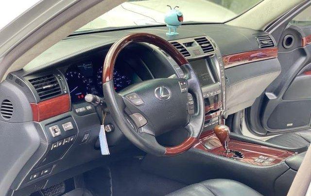 Bán ô tô Lexus LS600hL sản xuất năm 2007, màu xám, nhập khẩu  7