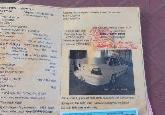 Bán xe Daewoo Cielo 1999, màu trắng, giá chỉ 28 triệu4