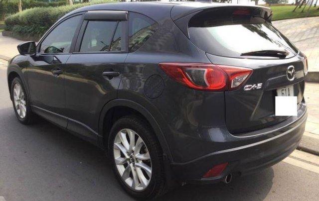 Cần bán xe Mazda CX 5 năm 2014, màu xanh lam1