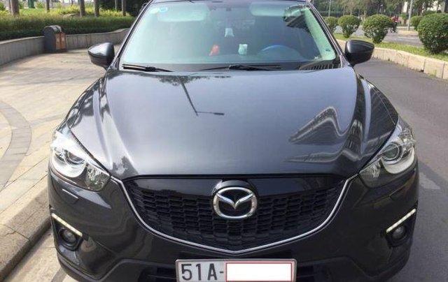 Cần bán xe Mazda CX 5 năm 2014, màu xanh lam0