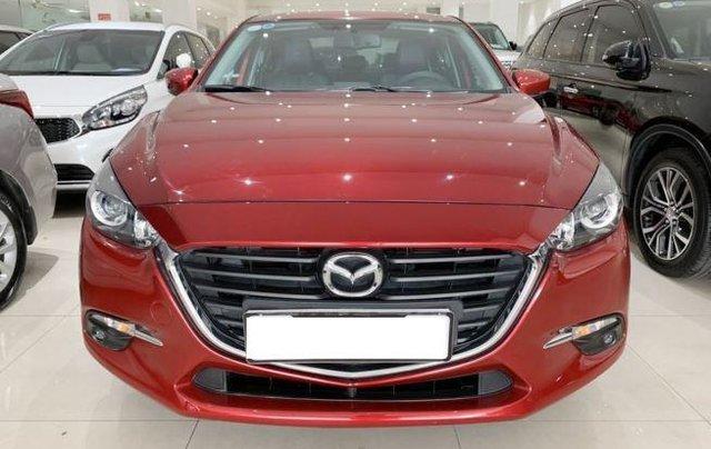 Cần bán gấp Mazda 3 sản xuất năm 2018, màu đỏ, giá tốt0