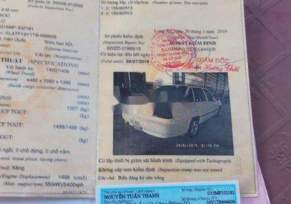 Bán xe Daewoo Cielo 1999, màu trắng, giá chỉ 28 triệu5