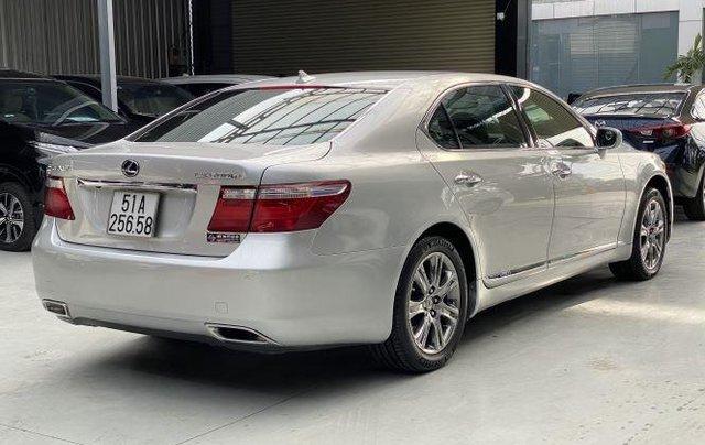 Bán ô tô Lexus LS600hL sản xuất năm 2007, màu xám, nhập khẩu  3