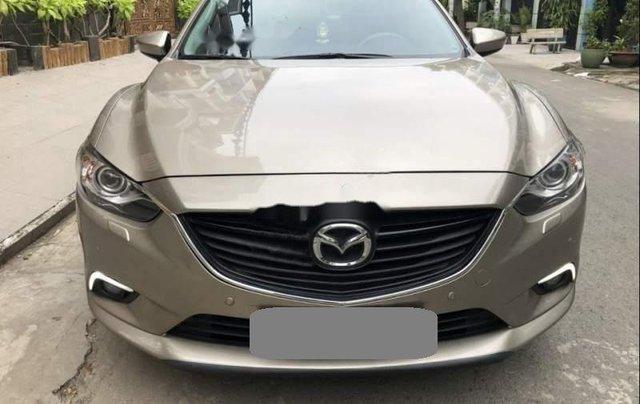 Bán xe Mazda 6 sản xuất năm 2017, màu vàng kim 0