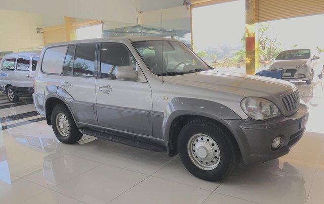 Bán Hyundai Terracan năm sản xuất 2003, màu bạc, nhập khẩu Hàn Quốc2
