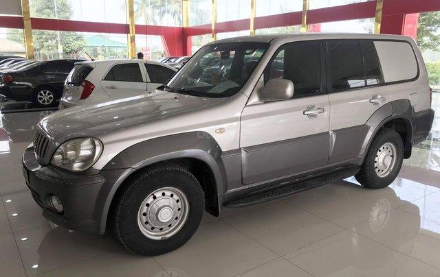 Bán Hyundai Terracan năm sản xuất 2003, màu bạc, nhập khẩu Hàn Quốc3