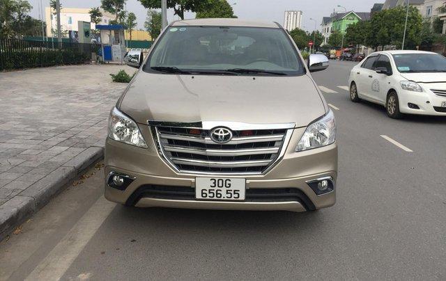 Chính chủ tôi cần bán Toyota Innova 2.0E 2014 số sàn0