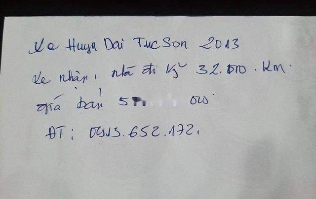 Cần bán gấp Hyundai Tucson sản xuất 2013, nhập khẩu còn mới, giá chỉ 520 triệu6