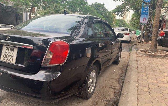 Cần bán xe Daewoo Lacetti năm 2008, màu đen còn mới0