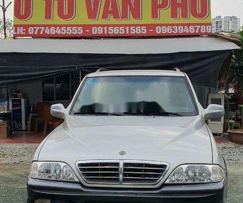 Cần bán lại xe Ssangyong Musso sản xuất năm 2004 còn mới0