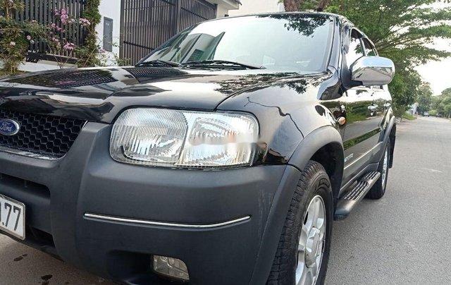 Bán Ford Escape sản xuất năm 2002, màu đen còn mới4