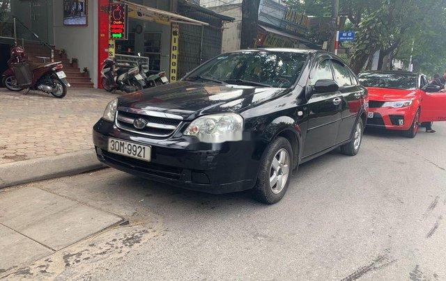 Cần bán xe Daewoo Lacetti năm 2008, màu đen còn mới3