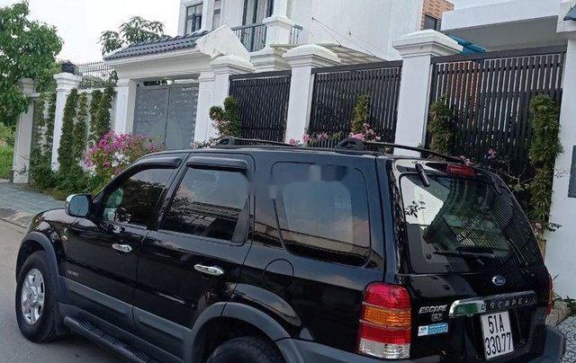 Bán Ford Escape sản xuất năm 2002, màu đen còn mới0