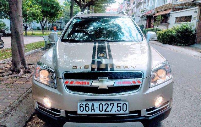 Bán Chevrolet Captiva đời 2011, màu vàng0