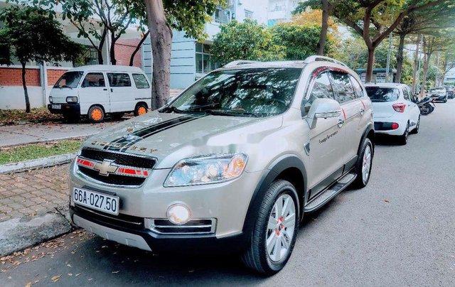 Bán Chevrolet Captiva đời 2011, màu vàng1
