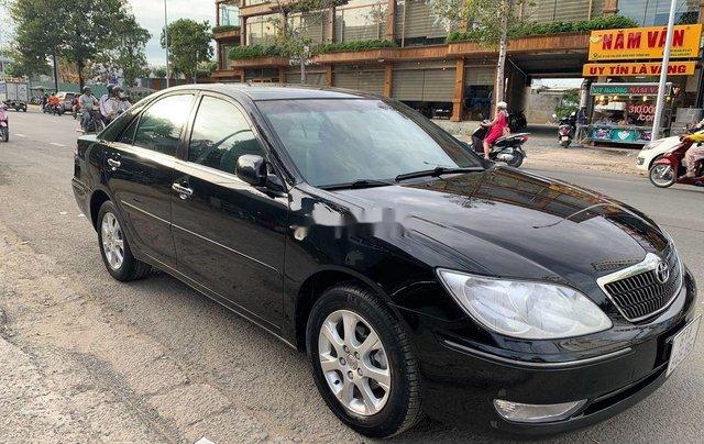 Bán ô tô Toyota Camry đời 2004, màu đen chính chủ, giá tốt3
