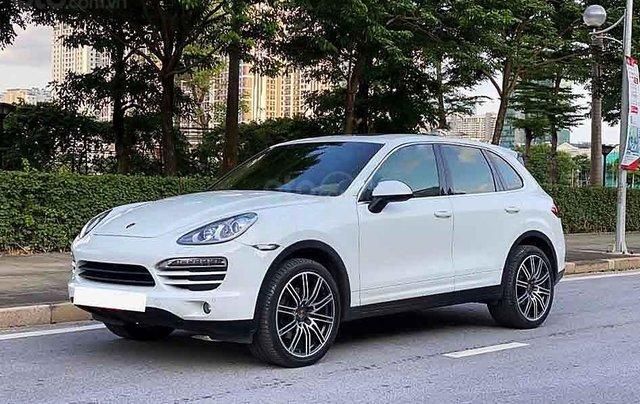 Cần bán Porsche Cayenne đời 2014, màu trắng, nhập khẩu0