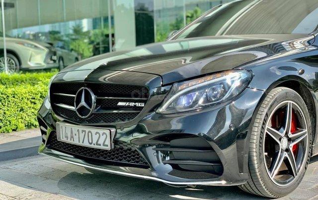 Cần bán Mercedes-Benz C250 AMG, màu đen sản xuất 2015, đã đi 31.000, 1 chủ duy nhất5