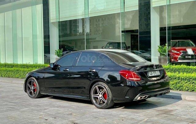 Cần bán Mercedes-Benz C250 AMG, màu đen sản xuất 2015, đã đi 31.000, 1 chủ duy nhất1