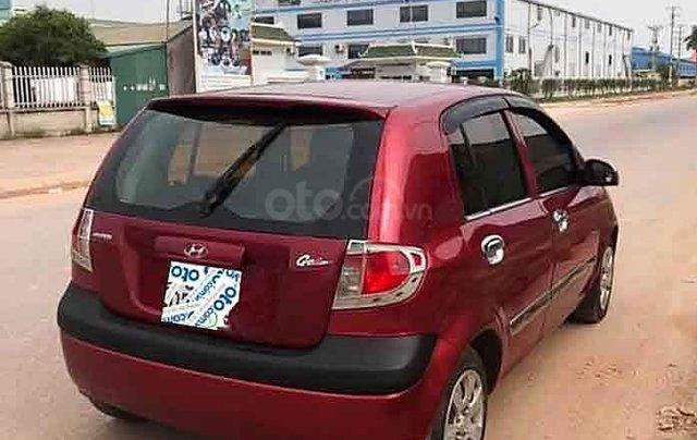 Bán xe Hyundai Getz đời 2007, màu đỏ, xe nhập số sàn3