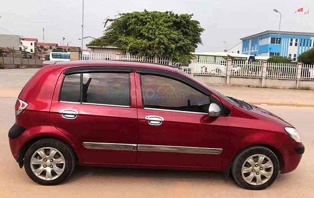 Bán xe Hyundai Getz đời 2007, màu đỏ, xe nhập số sàn0