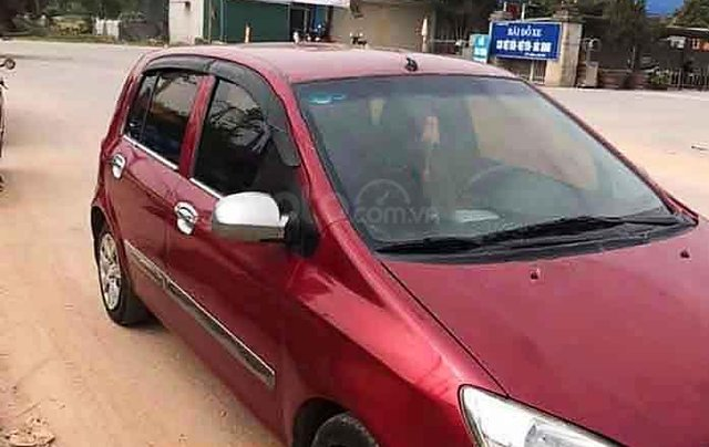 Bán xe Hyundai Getz đời 2007, màu đỏ, xe nhập số sàn1