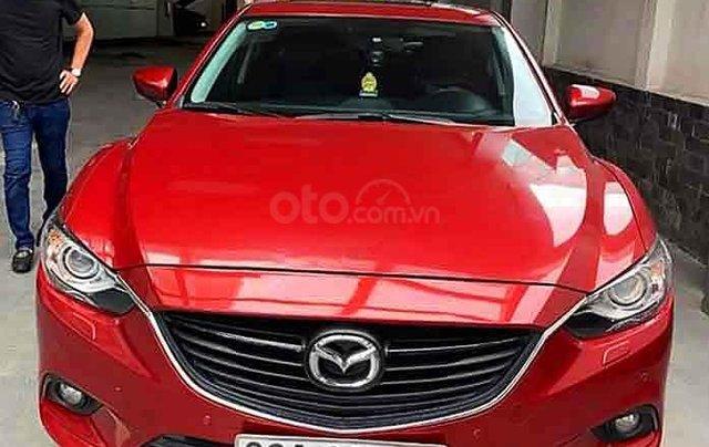 Bán xe Mazda 6 đời 2015, màu đỏ. Giá chỉ 613 triệu0