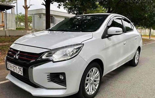 Bán Mitsubishi Attrage 1.2 CVT năm sản xuất 2020, màu trắng, xe nhập, 426 triệu0