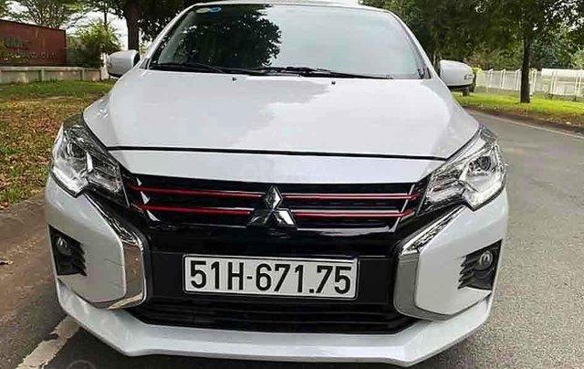 Bán Mitsubishi Attrage 1.2 CVT năm sản xuất 2020, màu trắng, xe nhập, 426 triệu2