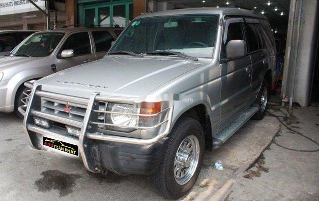 Cần bán xe Mitsubishi Pajero năm 2004, màu bạc, nhập khẩu, giá chỉ 180 triệu1