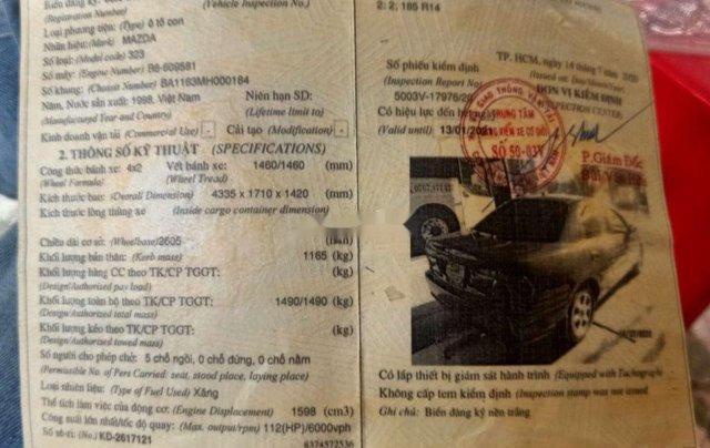 Bán Mazda 323 năm 1998 chính chủ, giá 125tr10