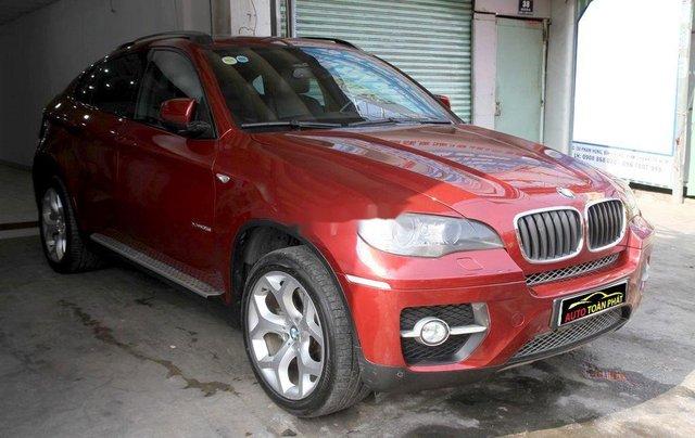 Bán ô tô BMW X6 đời 2008, màu đỏ, nhập khẩu nguyên chiếc, giá tốt2