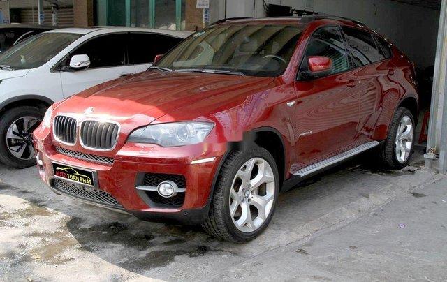 Bán ô tô BMW X6 đời 2008, màu đỏ, nhập khẩu nguyên chiếc, giá tốt1