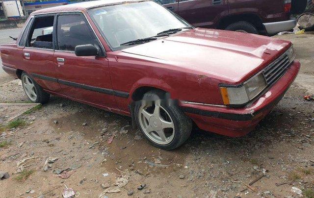 Bán Toyota Camry năm 1985, màu đỏ, xe nhập giá cạnh tranh3