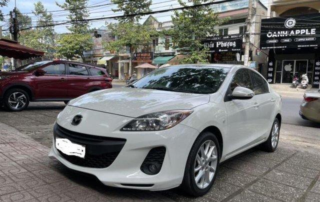 Bán Mazda 3 năm 2013, màu trắng còn mới6