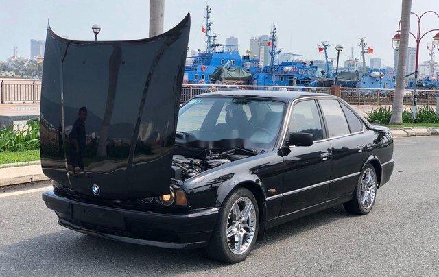 Bán BMW 5 Series 525i sản xuất 1995, màu đen, nhập khẩu, giá tốt0