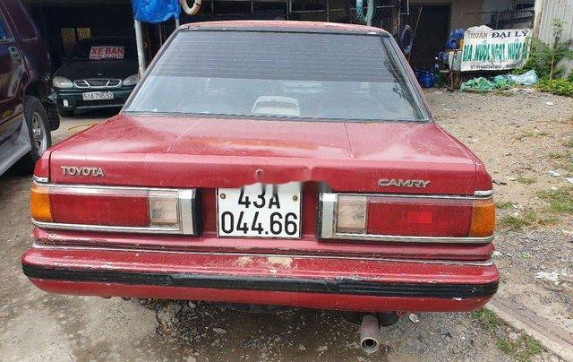 Bán Toyota Camry năm 1985, màu đỏ, xe nhập giá cạnh tranh4