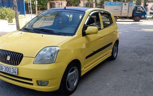 Cần bán Kia Morning năm 2004, màu vàng, giá chỉ 136 triệu0