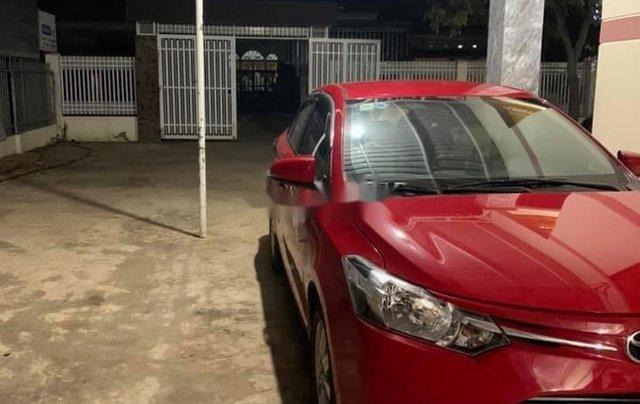 Xe Toyota Vios năm 2015, màu đỏ, 345tr1
